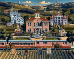 Dowdle Jigsaw Puzzles - Napa Valley