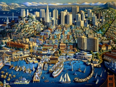 Dowdle Jigsaw Puzzles - San Francisco