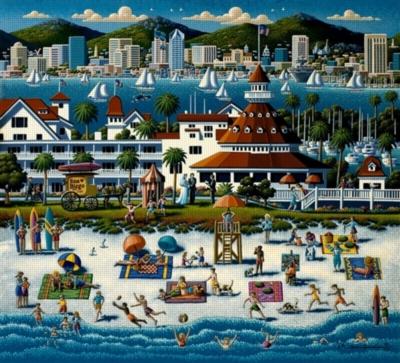 Dowdle Jigsaw Puzzles - San Diego