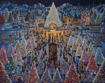 Dowdle Jigsaw Puzzles - Festival of Trees