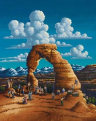 Dowdle Jigsaw Puzzles - Delicate Arch