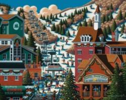 Dowdle Jigsaw Puzzles - Ski Park City