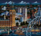 London - 500pc Jigsaw Puzzle by Dowdle