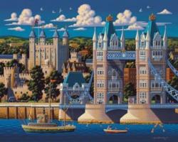 Dowdle Jigsaw Puzzles - London Tower Bridge