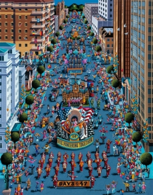 Dowdle Jigsaw Puzzles - Days of 47