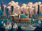 Chicago Navy Pier - 500pc Jigsaw Puzzle by Dowdle