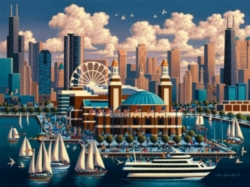 Dowdle Jigsaw Puzzles - Chicago Navy Pier