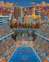 Dowdle Jigsaw Puzzles - Boise State