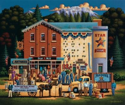 Dowdle Jigsaw Puzzles - Star Flour Mill