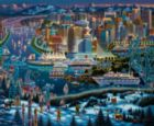 Vancouver - 500pc Jigsaw Puzzle by Dowdle