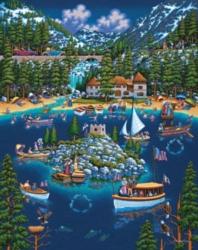 Dowdle Jigsaw Puzzles - Lake Tahoe