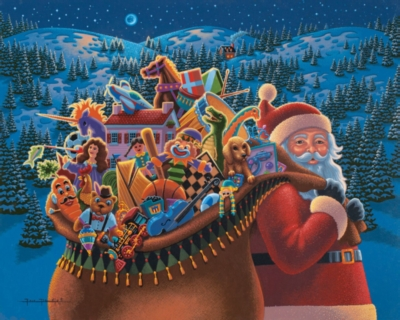 Dowdle Jigsaw Puzzles - Christmas Delivery