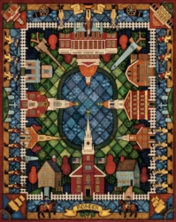 Dowdle Jigsaw Puzzles - Boston Quilt