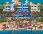 South Beach - 500pc Jigsaw Puzzle by Dowdle