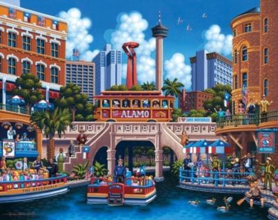 Dowdle Jigsaw Puzzles - San Antonio