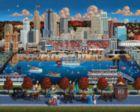 Cincinnati - 500pc Jigsaw Puzzle by Dowdle