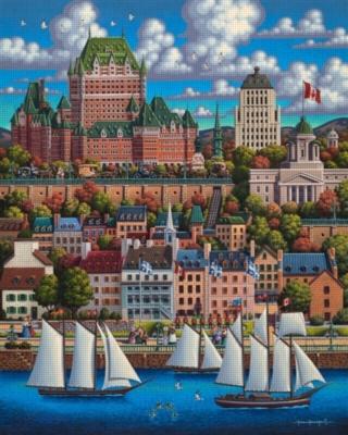 Dowdle Jigsaw Puzzles - Quebec City