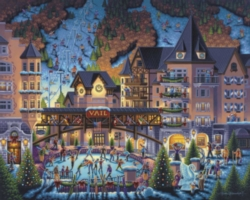 Dowdle Jigsaw Puzzles - Vail