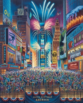 Dowdle Jigsaw Puzzles - Times Square
