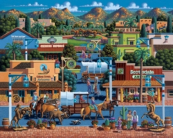 Dowdle Jigsaw Puzzles - Scottsdale