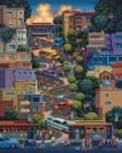 Lombard Street - 500pc Jigsaw Puzzle by Dowdle
