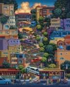 Dowdle Jigsaw Puzzles - Lombard Street
