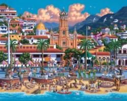 Dowdle Jigsaw Puzzles - Puerto Vallarta