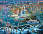 Vancouver - 1000pc Jigsaw Puzzle by Dowdle
