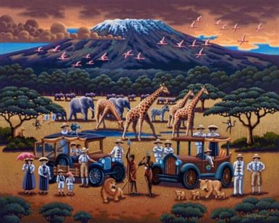 Dowdle Jigsaw Puzzles - African Safari