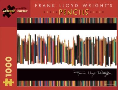 Jigsaw Puzzles - Frank Lloyd Wright's Pencils