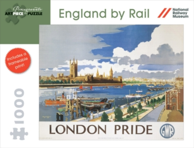 England by Rail: London Pride - 1000pc Jigsaw Puzzle by Pomegranate