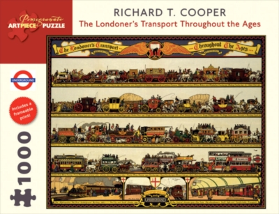 Jigsaw Puzzles - Londoner's Transport Throughout the Ages