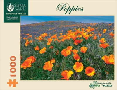 Poppies - 1000pc Jigsaw Puzzle by Pomegranate