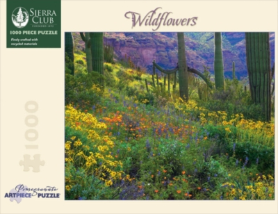 Wildflowers - 1000pc Jigsaw Puzzle by Pomegranate