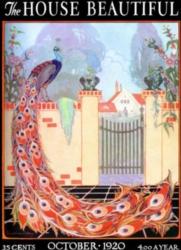 Jigsaw Puzzles - The House Beautiful: Peacock Garden