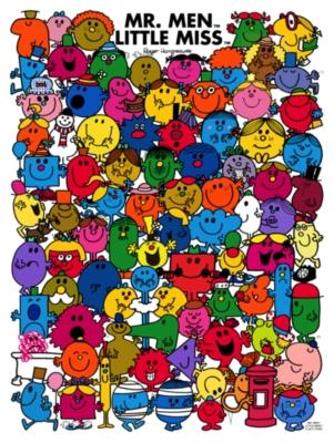 Jigsaw Puzzles - Little Miss & Mr. Men