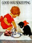 Dinner for Kitty - 500pc Jigsaw Puzzle by New York Puzzle Co.