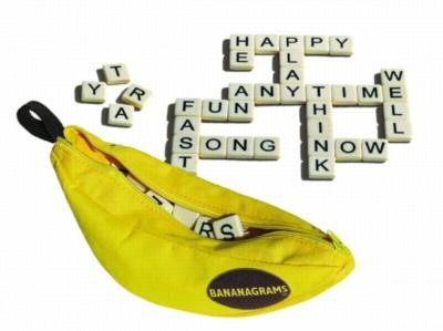 Anagrams - Classic Bananagrams, 144 Tiles