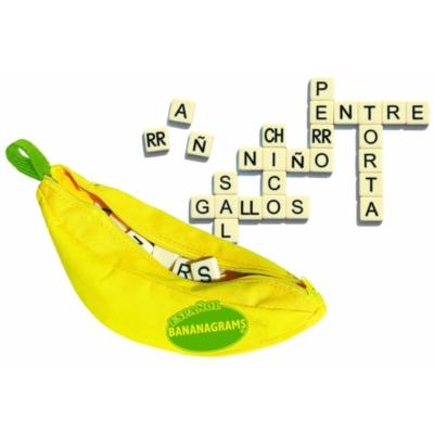 Anagrams - Spanish Bananagrams, 144 Tiles