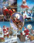 Santa's Big Night - 1000pc Jigsaw Puzzle By White Mountain