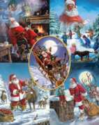 Jigsaw Puzzles - Santa's Big Night