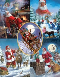 Jigsaw Puzzles - Santa's Big Night