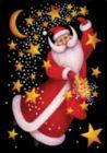 Celestial Santa - Garden Flag by Toland