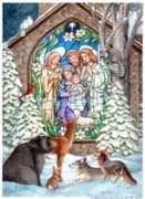 Winter Nativity - Garden Flag by Toland