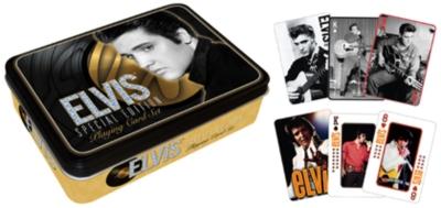 Elvis: Gold - Playing Card Tin Set