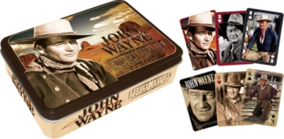 John Wayne - Playing Card Tin Set