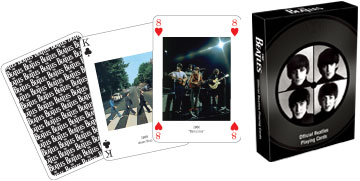 The Beatles - Playing Card Deck