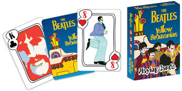 The Beatles: Yellow Submarine - Playing Card Deck