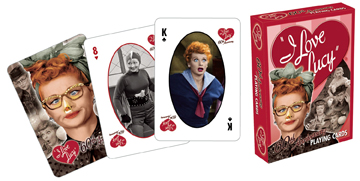 I Love Lucy: Expressions - Playing Card Deck