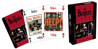 The Beatles: Singles - Playing Card Deck